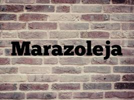 Marazoleja