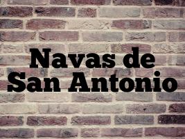 Navas de San Antonio